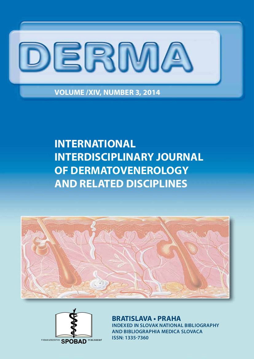 Časopis DERMA č. 2014/III
