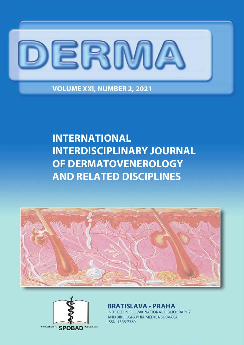 Časopis DERMA č. 2021/II